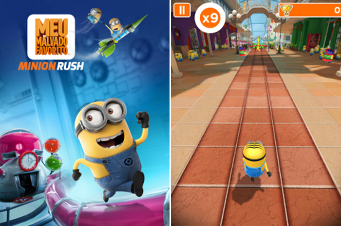minion rush - blog Mamãe de Salto