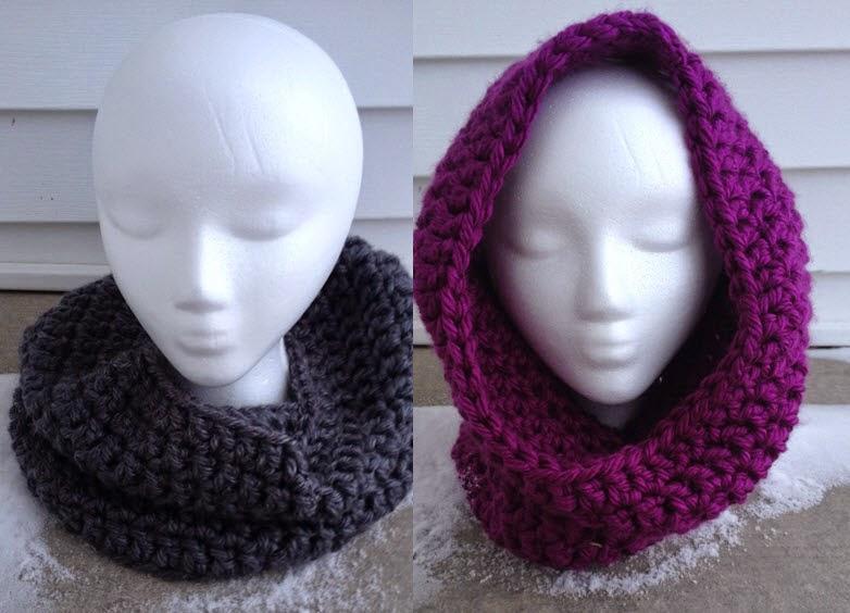 For His Glory Handiwork Quick N Easy Cowlhood Free Crochet Pattern