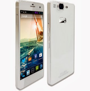 Micromax A350 Canvas Knight white version