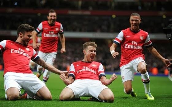 Prediksi Stoke vs Arsenal � Liga Inggris 1 Maret 2014
