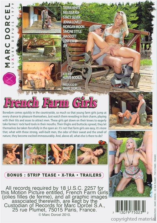 Французское порно на ферме