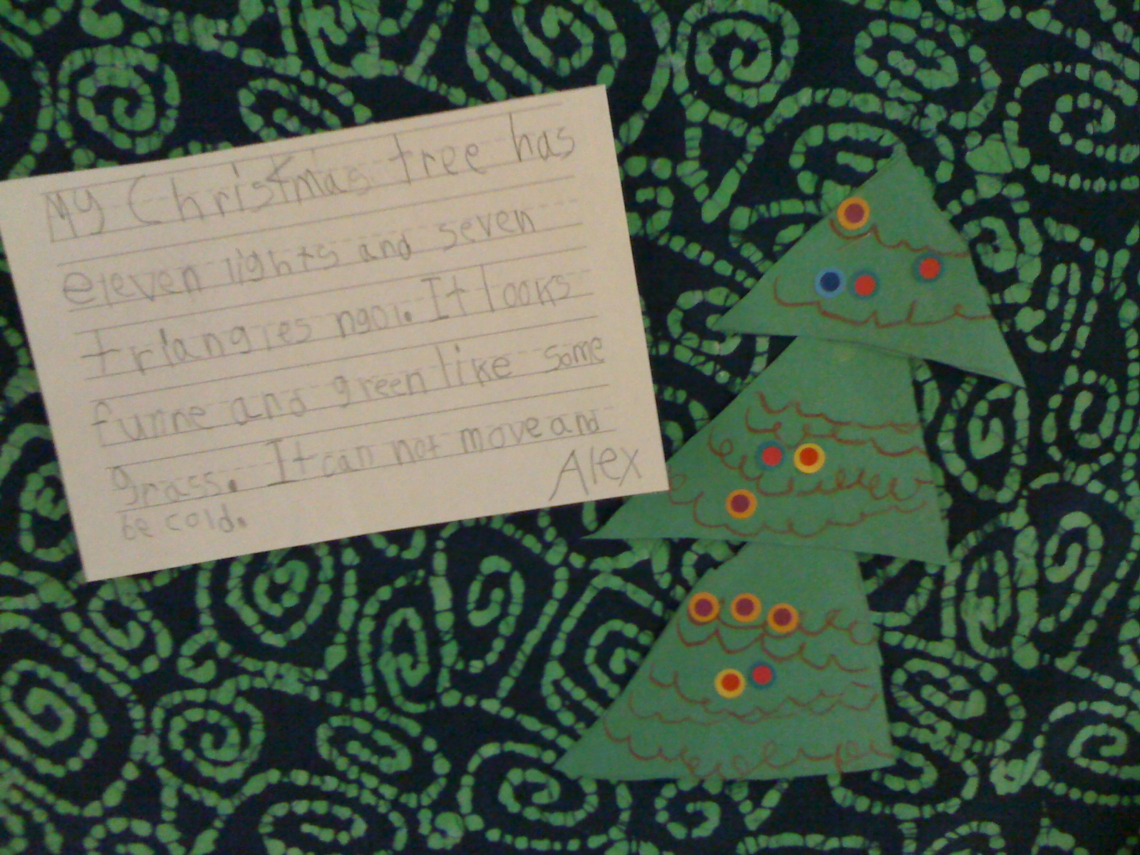 Descriptive Essay About Christmas Tree