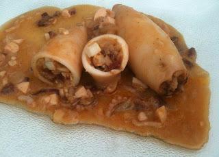 Cocina con Anibal unos deliciosos calamares rellenos con jamón serrano y huevo duro