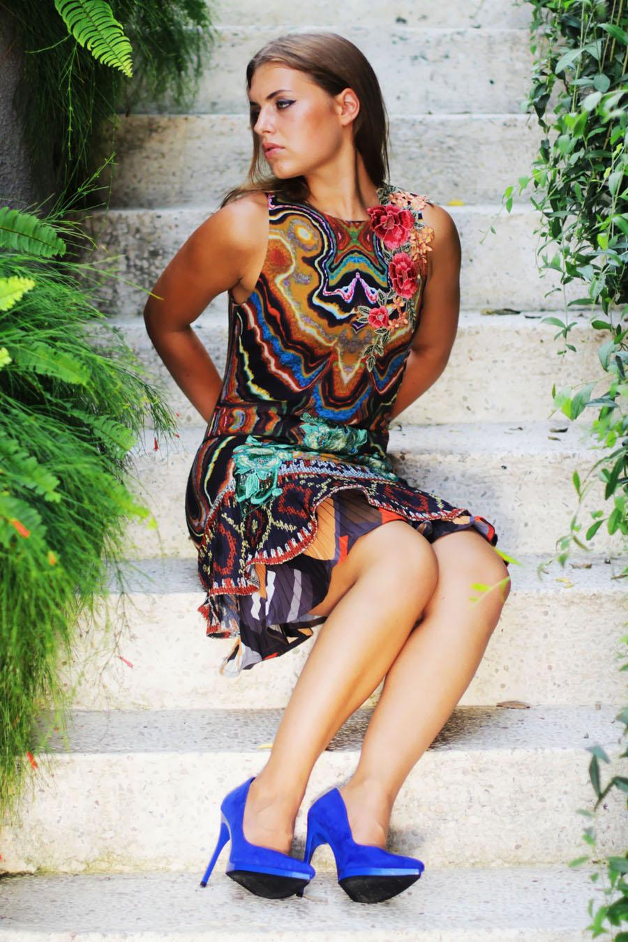 jasmin fatschild desigual shooting hidden hills villas bali