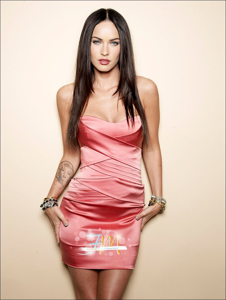 Fresh Look Like Megan Fox Hairstyles 18