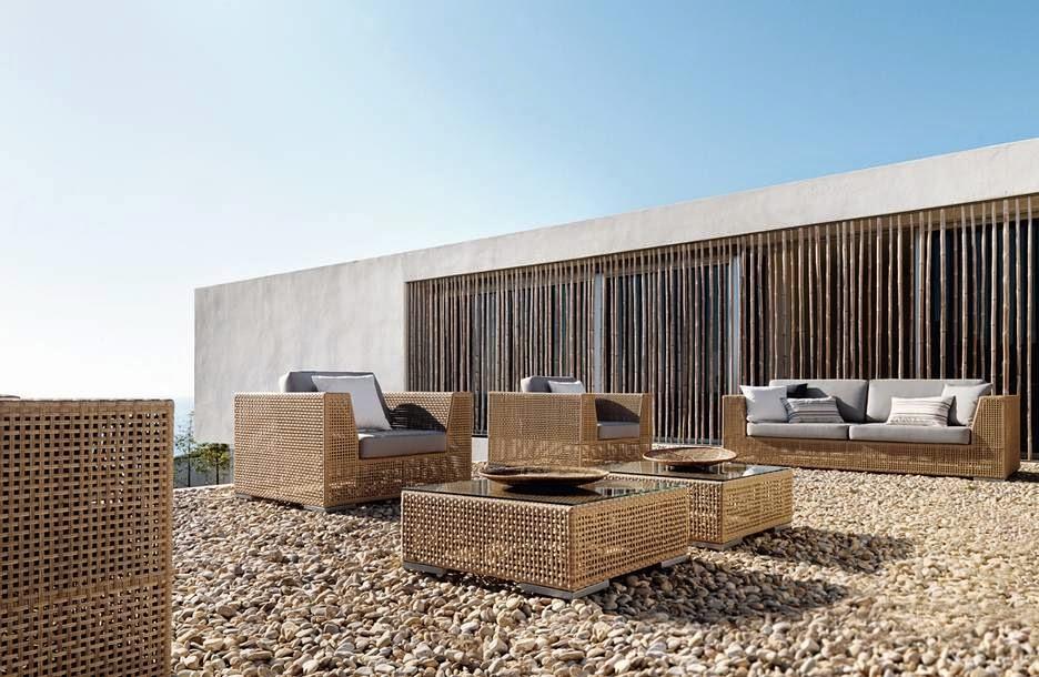 Espectaculares dise os de muebles para terrazas jard n y for Muebles terraza diseno