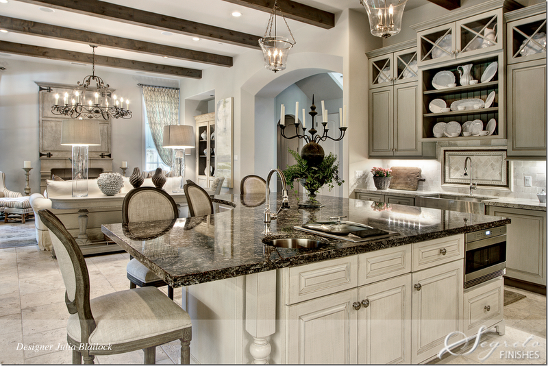Simple everyday glamour house crush for Magnificent kitchens