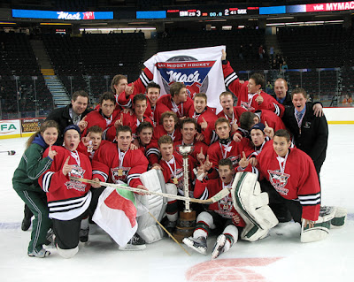 Midget tourney Macs hockey