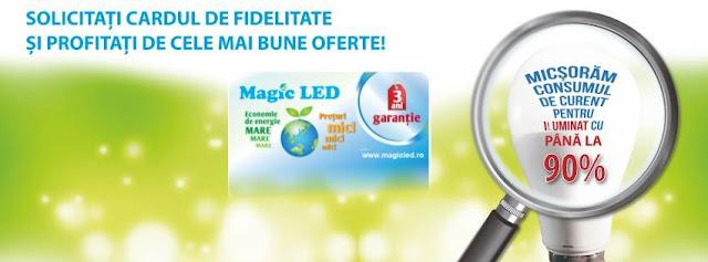 Spoturi cu led ieftine si becuri performante, la preturi mici, gasesti la Magic Led!