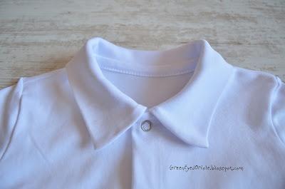 Боди-рубашка