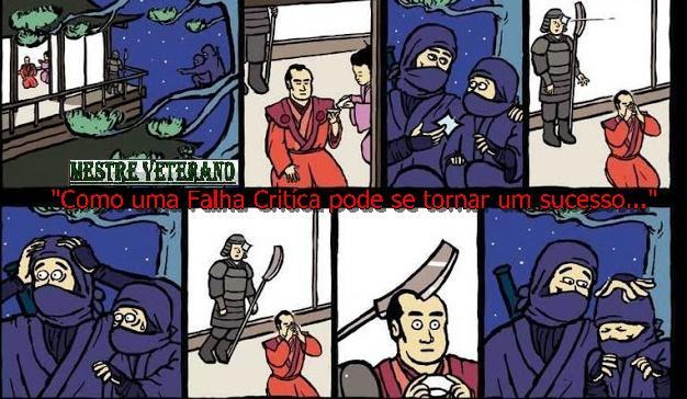 Imagens engraçadas (ou não) Ninjas