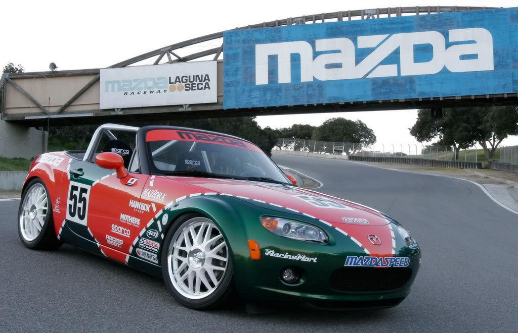 RoadsterBlog The Mazda MX Cup - Mazda racing series