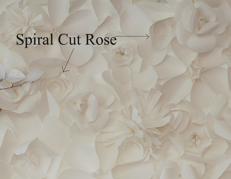 tradewind tiaras  how to make a paper flower backdrop