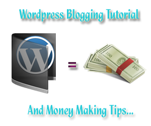 make money with wordpress blog