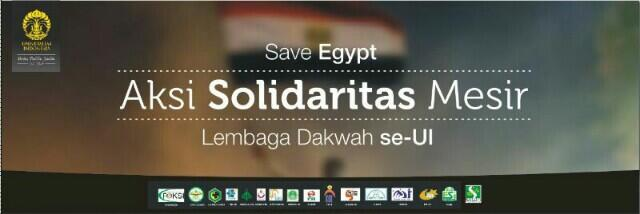 Massa aksi #SaveEgypt akan berangkat dari UI menuju kedubes Mesir  Aksi Damai - Solidaritas Salam UI dan FSLDK untuk Saudara di Mesir! indonersiacenter.blogspot.com