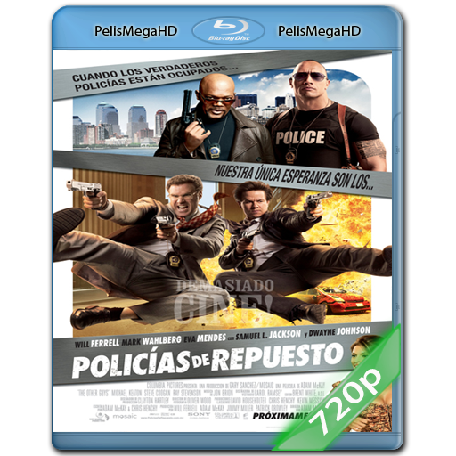 POLICIAS DE REPUESTO [THE OTHER GUYS] (2010) 720P HD MKV ESPAÑOL LATINO