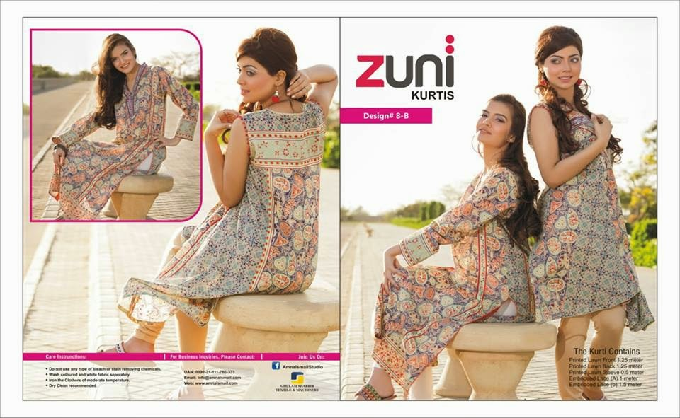 Latest Summer Kurti Collection 2015