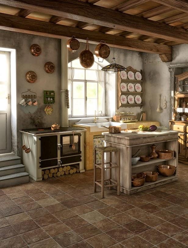 Awesome Cocinas Italianas De Diseño Ideas - Casas: Ideas & diseños ...