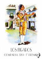 Boceto de Los fígaros - 1964 - Paco Alba