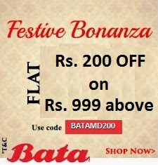 Rs. 200 off on orders above Rs. 999 Coupon