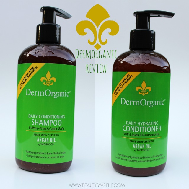 DermOrganic Shampoo and Conditioner