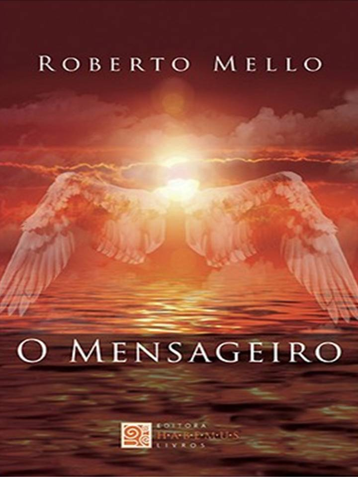 """Livro """"O Mensageiro""""."""