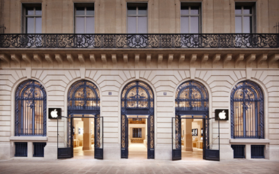 Apple Store, Opéra, Paris' Newest Apple Store Is Least Apple-Like Store YetApple Store Is Least Apple-Like Store Yet
