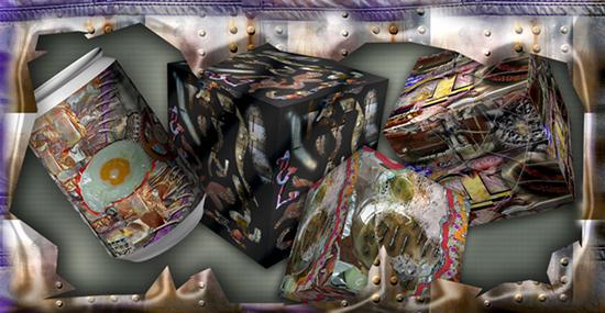 El Rivismo y los Agujeros Negros. Arte Espacial Multidimensional. Obras de Ramón Rivas