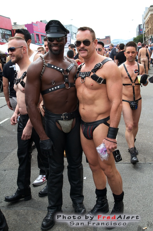 Bikes Queens The Folsom Street Fair right