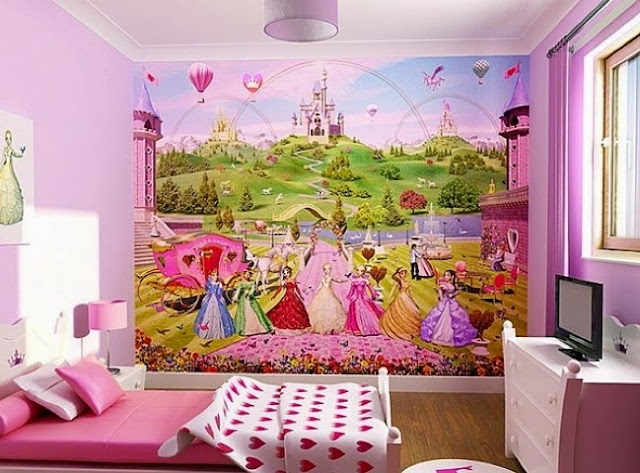 Disney Bedroom Wall Paint Colors