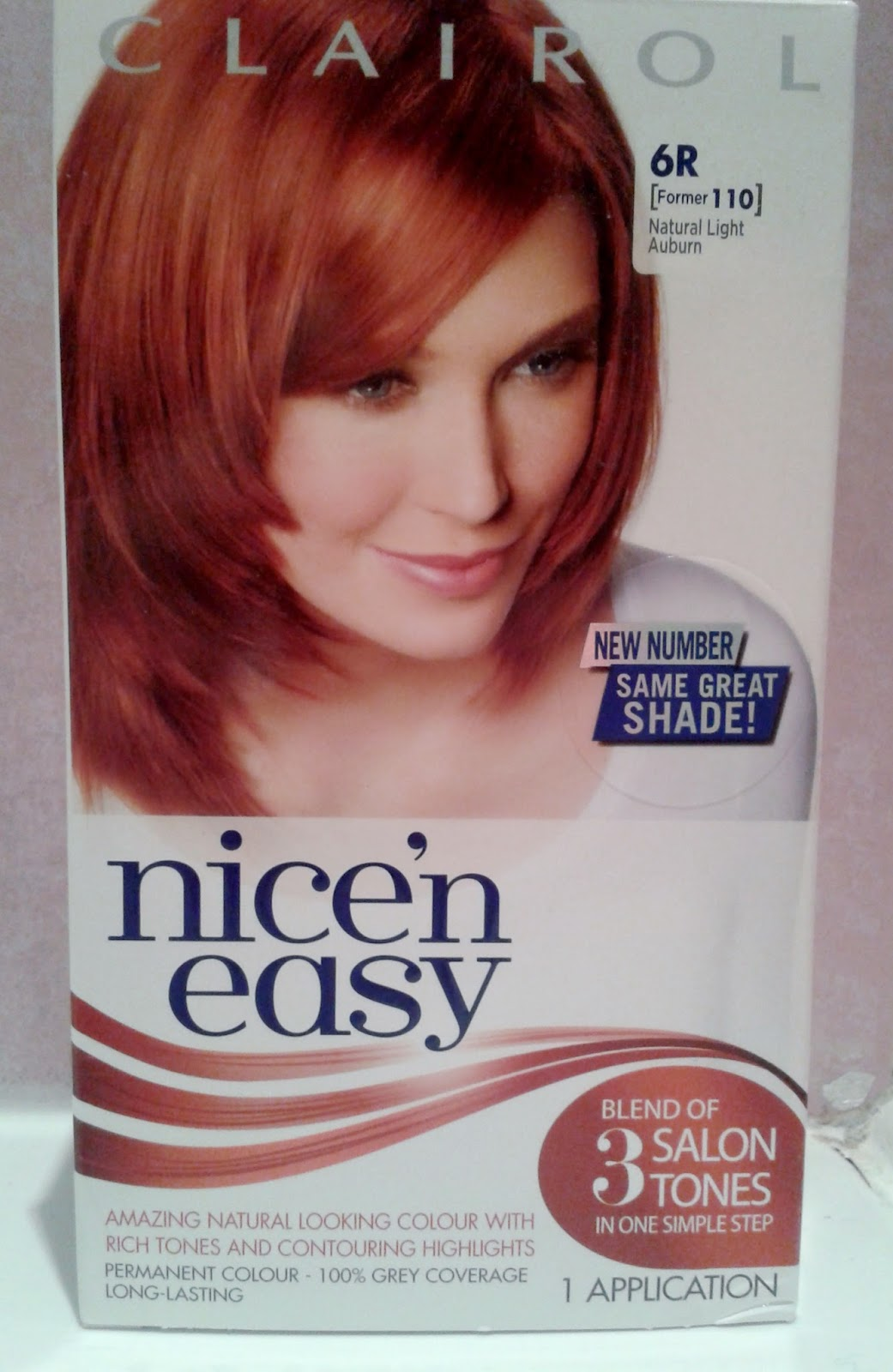 Clairol Natural Light Auburn