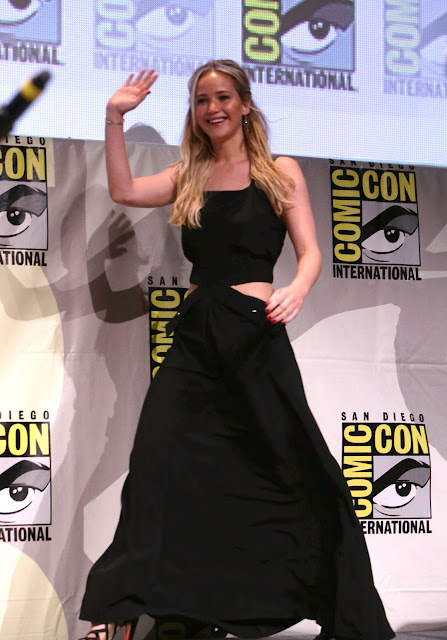 Actress @ Jennifer Lawrence - Hunger Games Mockingjay Part 2 Presentation at Comic Con in San Diego