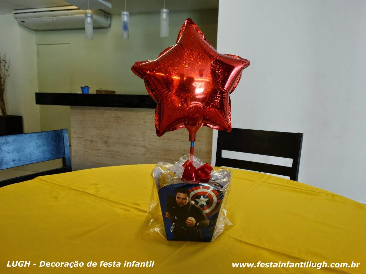 ornamentação de festa temática decorada com temas para aniversário infantil
