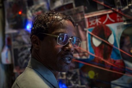 "Jamie Foxx es ""Electro / Max Dillon"" en The Amazing Spider-Man 2"