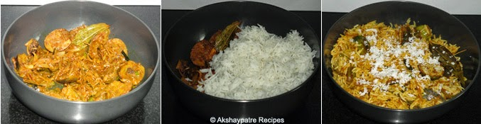 add masala and rice