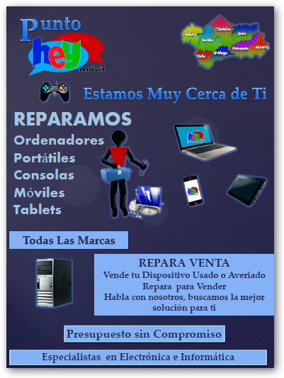HEY MOVIL TU TIENDA Y TU TALLER DE REPARACION