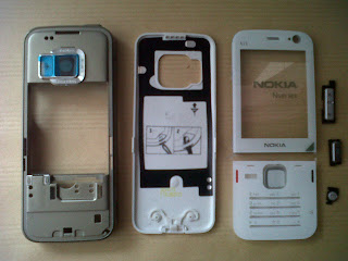 Casing Nokia N78 white