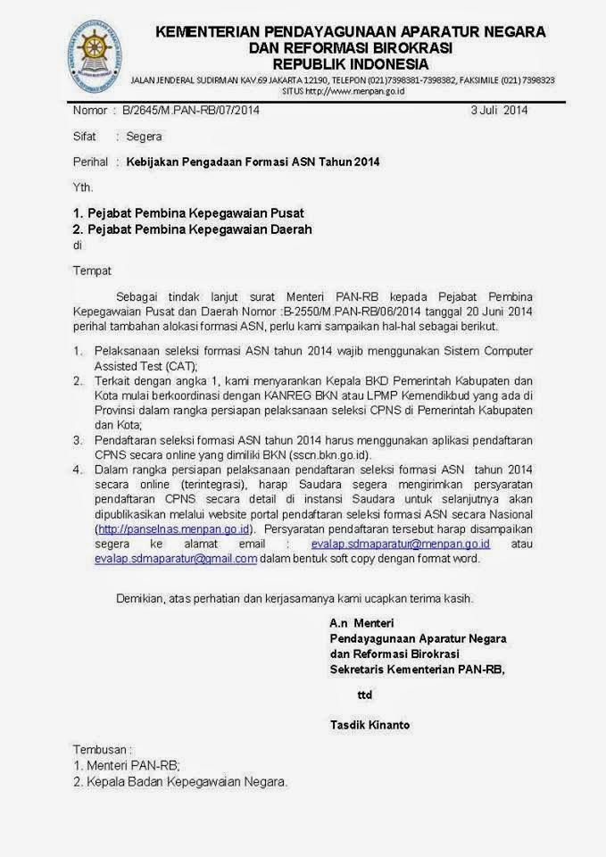 info cpns 2014