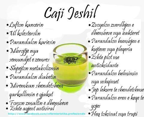 Çaji Jeshil dhe shëndeti