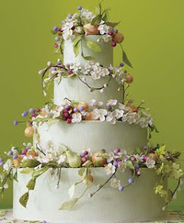 2012 Wedding Cakes Trends With Flowers Ideas