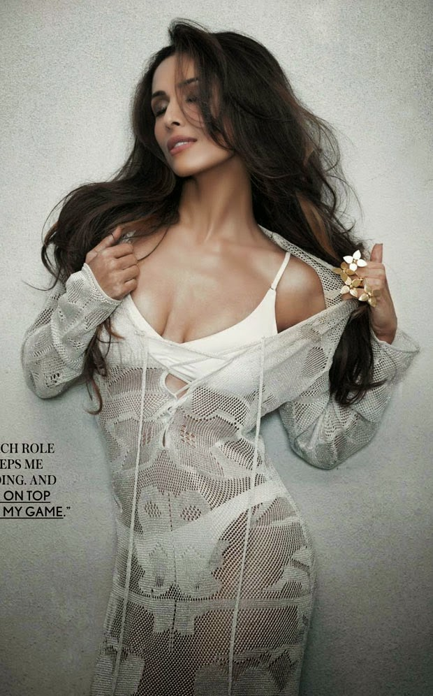 Malaika Arora Khan Sizzling Hot Scan For Maxim Magazine India October 2014