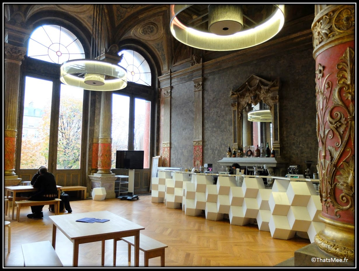 brunch melting Popotte café foyer historique Gaité Lyrique