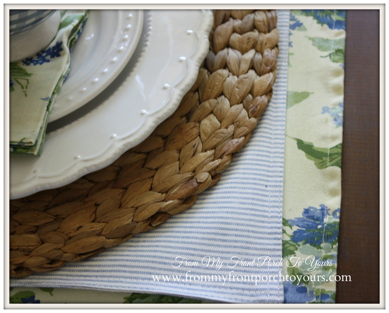 Mix and Match table runners.