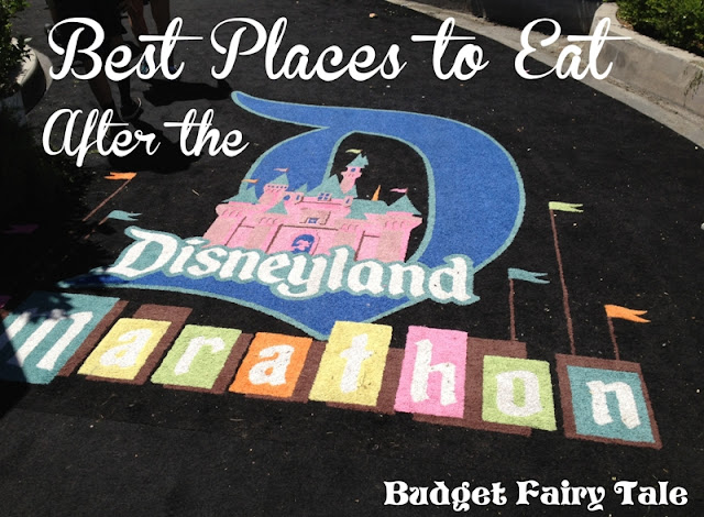 Budget Fairy Tale: Best Places to Eat After the Disneyland 10k and Half Marathon