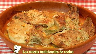 Secreto Ibérico en salsa al horno