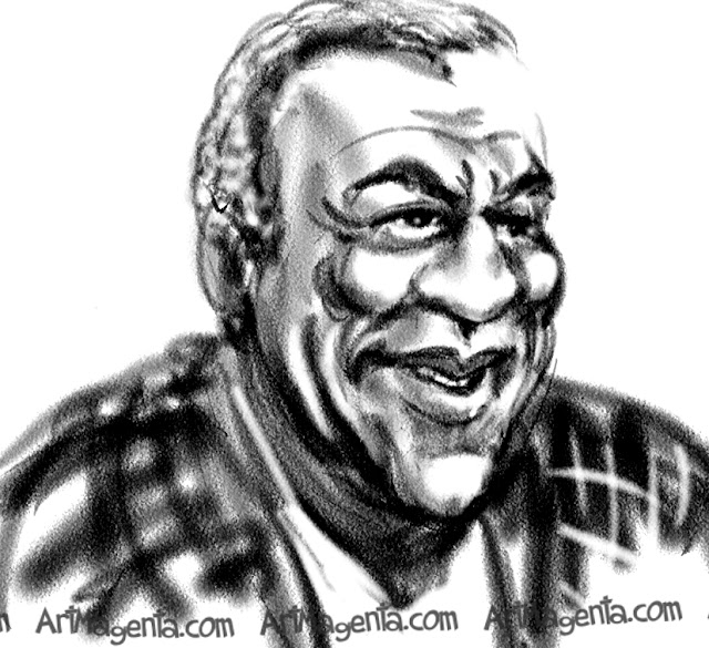 Bill Cosby is a caricature by caricaturist Artmagenta