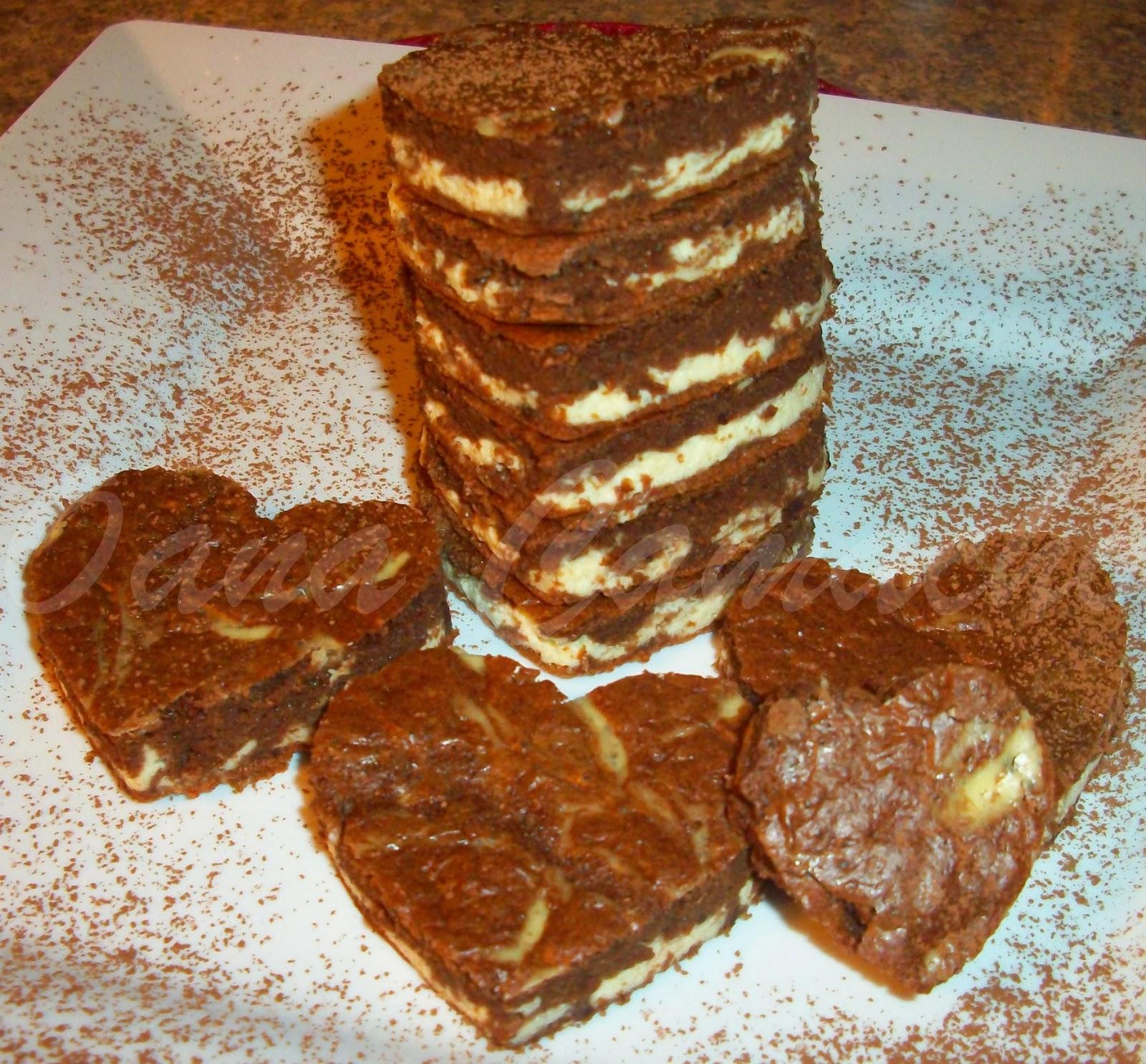 Yummy si se apropie destul de mult cu cheesecake brownie originala