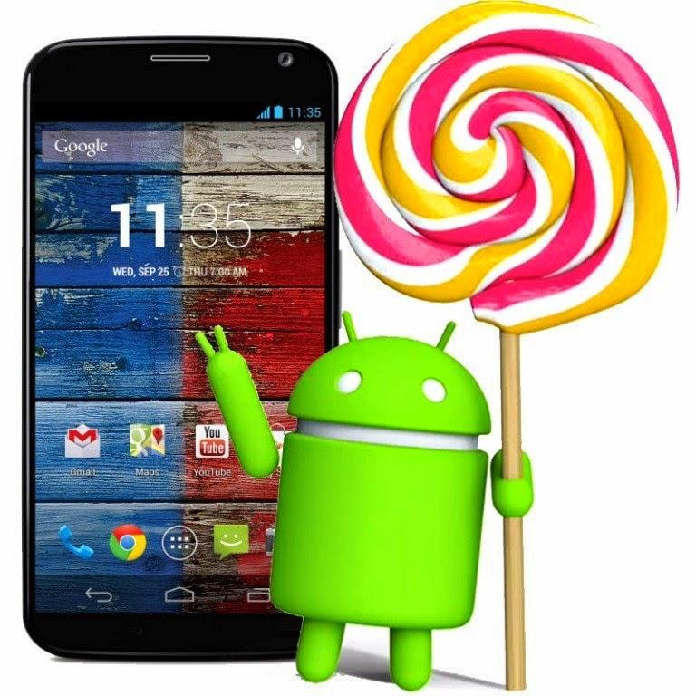 Motorola gulirkan update Android v5.0.2 Lollipop untuk Moto X generasi pertama