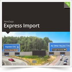 NewZapp Express Import