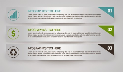 Free PSD Infographics Simple And Elegant